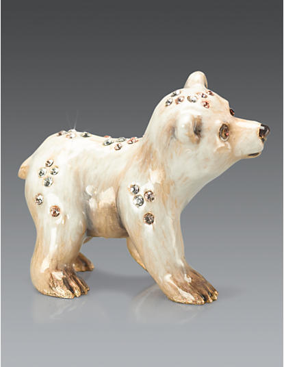 Saku Polar Bear Mini Figurine - Natural