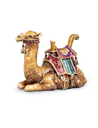 Sitting Camel Figurine - Jewel
