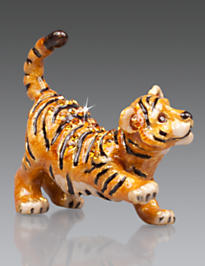 Nathan Tiger Mini Figurine - Natural