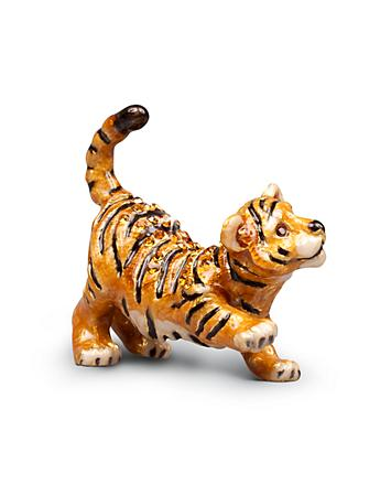 Nathan Tiger Mini Figurine - Natural