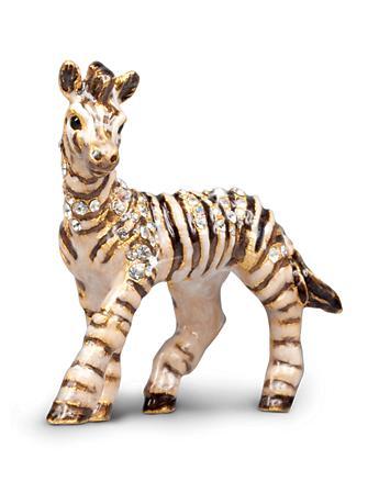 Meghan Zebra Mini Figurine - Natural