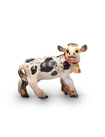 Mabel Cow Mini Figurine - Natural
