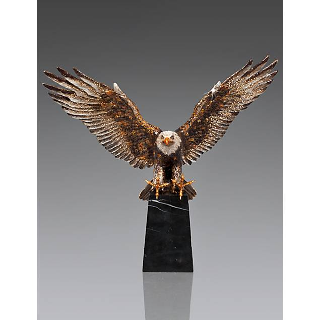 Washington Grand Eagle Figurine - Natural