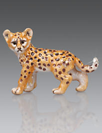 Kemi Cheetah Mini Figurine - Natural