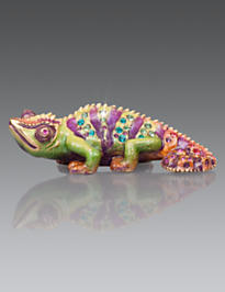 Callie Chameleon Mini Figurine - Natural