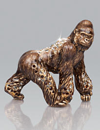 Howard Gorilla Mini Figurine - Natural