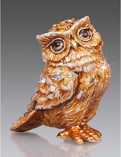 Bill Owl Mini Figurine - Natural