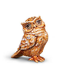 Bill Owl Mini Figurine - Natural