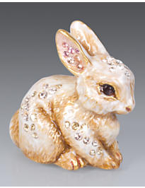 Emmy Bunny Mini Figurine - Natural