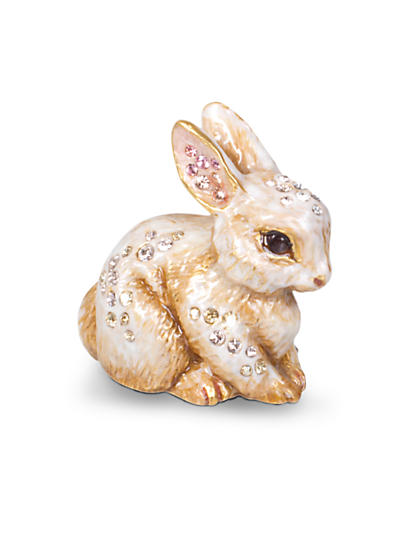 Emmy Bunny Mini Figurine - Natural