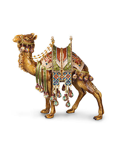 Alexander Grand Camel Figurine - Jewel
