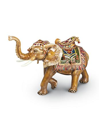 Elephant Figurine - Jewel