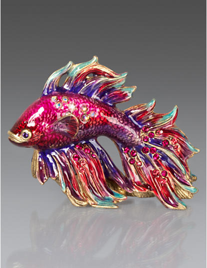 Jeremiah Fighting Fish Mini Figurine - Tropical