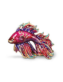 Jeremiah Fighting Fish Mini Figurine - Tropical