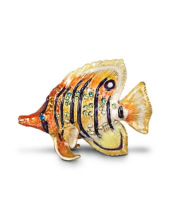Melvin Butterfly Fish Mini Figurine - Tropical