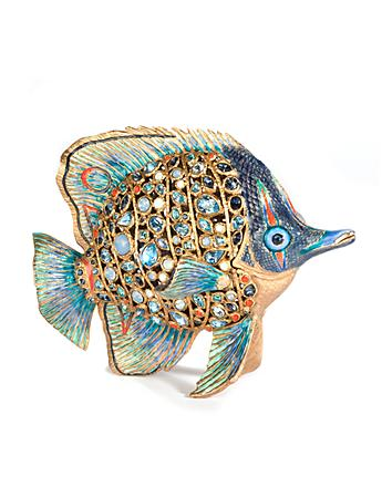 Weston Butterfly Fish Figurine - Oceana