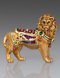 Forester Lion Figurine - Jewel
