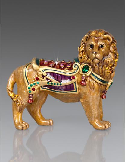 Forester Lion Figurine - Jewel