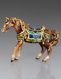 Abbey Horse Figurine - Jewel