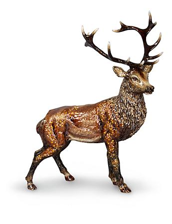Terence Stag Figurine - Natural