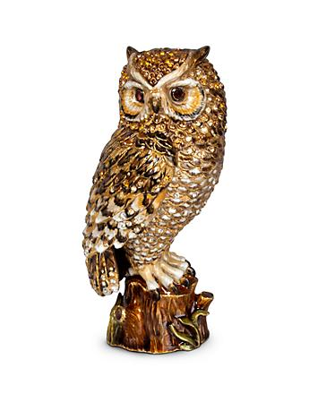"Milo Owl 7"" Figurine - Natural"