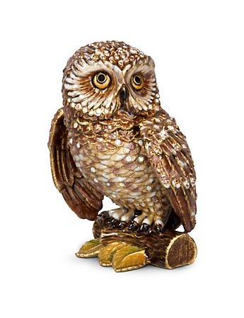 "Hildy Owl 5"" Figurine - Natural"