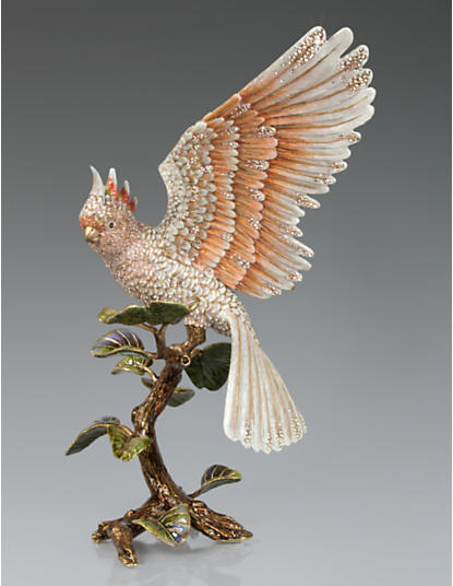 Elias Cockatoo Figurine - Natural