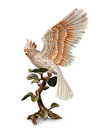 Elias Cockatoo Figurine - Natural