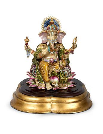 Ganesha Ganesh Figurine - Jewel