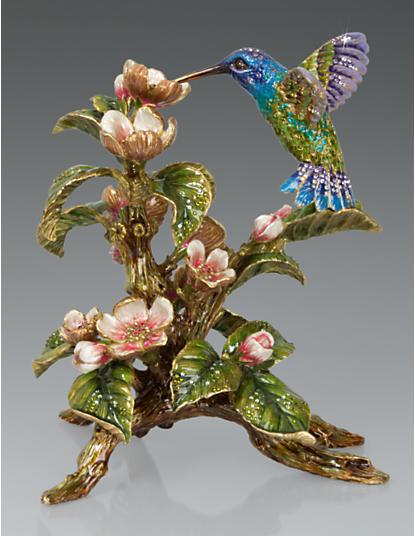 Dawn Hummingbird Tableau - Flora