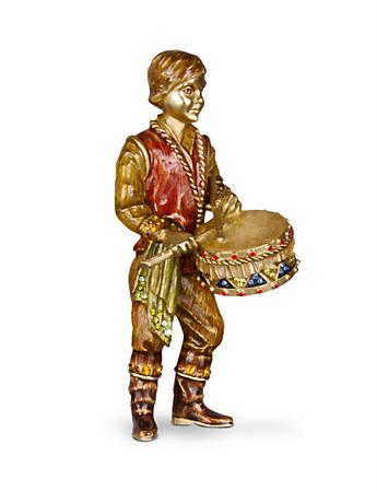 Little Drummer Boy Figurine - Jewel
