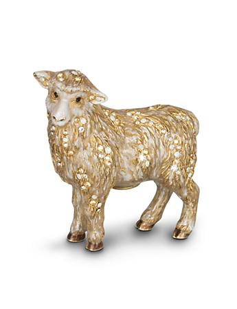 Standing Sheep Figurine - Natural