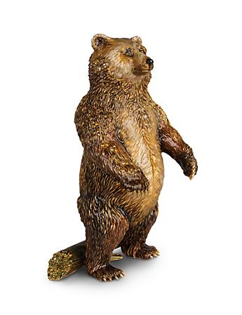 Woodrow Bear Figurine - Natural
