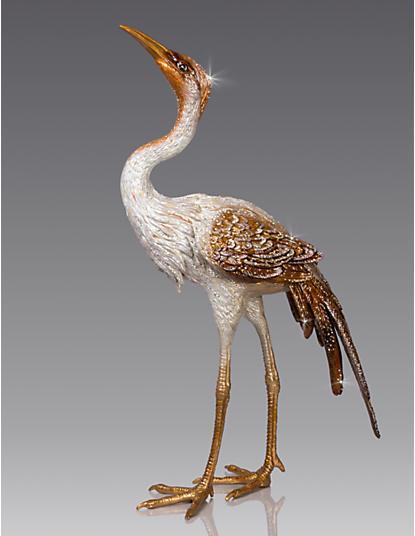 Nelson Crane Figurine - Natural