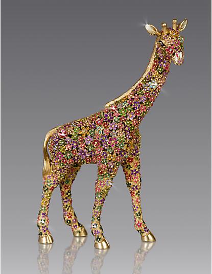 Goodwin Mille Fiori Giraffe Figurine - Flora