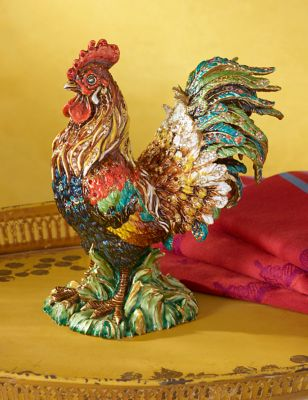 Yan Rooster Figurine - Natural