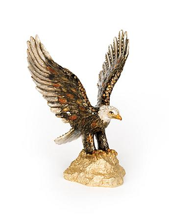 Lincoln Eagle Figurine - Natural