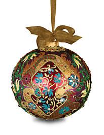2016 Opulent Glass Ornament - Jewel