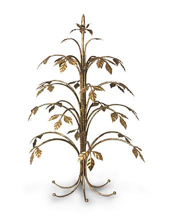 Thompson Metal Holiday Tree - Gold