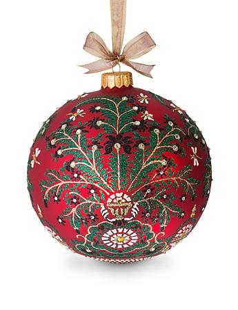 "Tree of Paradise Artisan 7"" Ornament - Siam"