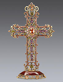 Mica Filigree Cross Objet - Jewel