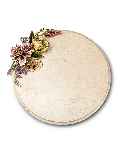 Diego Floral Cheese Board - Flora