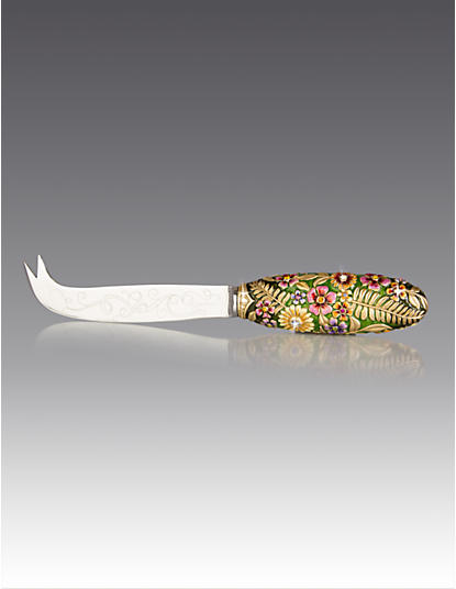 Frida Floral Cheese Knife - Flora