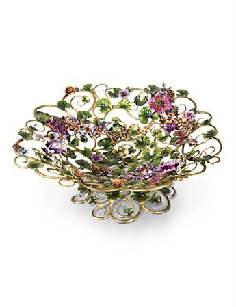 Claudette Floral Butterfly Bowl - Flora