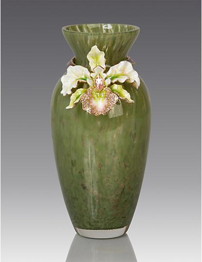 Loretta Orchid Vase - Leaf