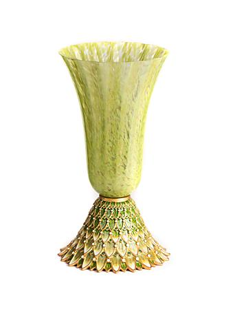 Sabrina Feather Vase - Leaf