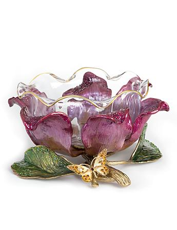 Sydney Large Flower Bowl - Brocade