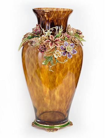Louisa Dutch Floral Vase - Bouquet