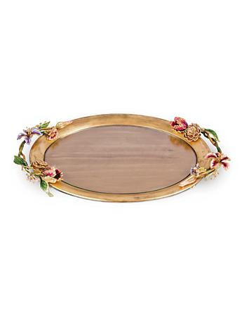 Thatcher Floral Oval Tray - Bouquet