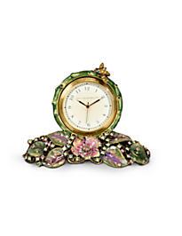 Mayfair Leaf & Bee Clock - Forest